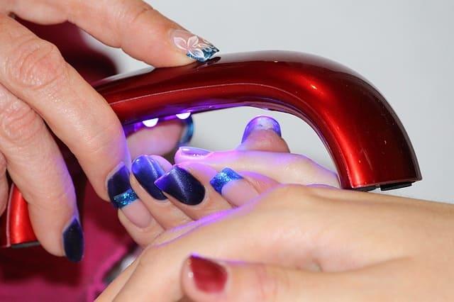 secaodra uñas esmalte normal