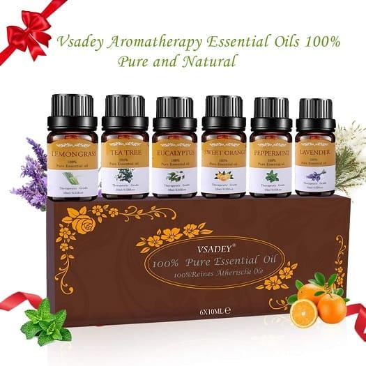 vsadey aceites esenciales aromaterapia humidificador natural puro