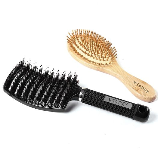 vsadey cepillo de pelo antibacterias