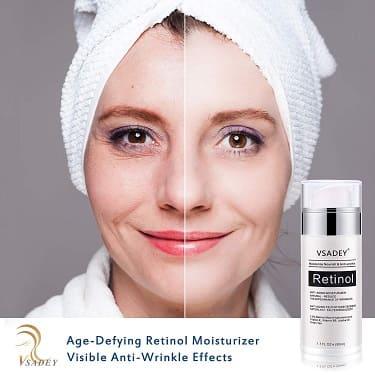 vsadey crema antiarrugas dia noche facial retinol serum antiedad