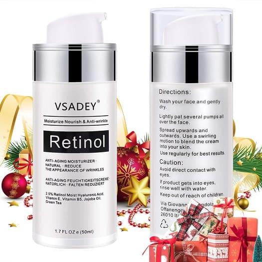 vsadey crema antiarrugas dia noche facial retinol serum